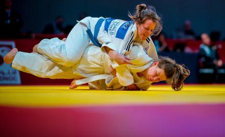Jasmin Siebelitz bei einem ihrer Judokämpfe. Foto: SOD/Sascha Klahn