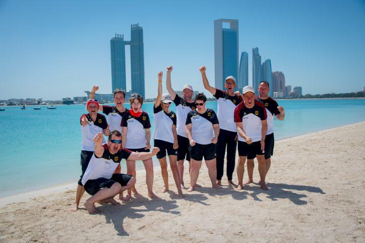 Das erfolgreiche SOD Kanu Team. Foto: SOD/Sascha Klahn
